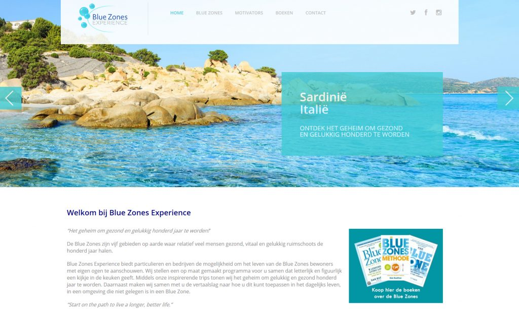 Blue Zones Experience