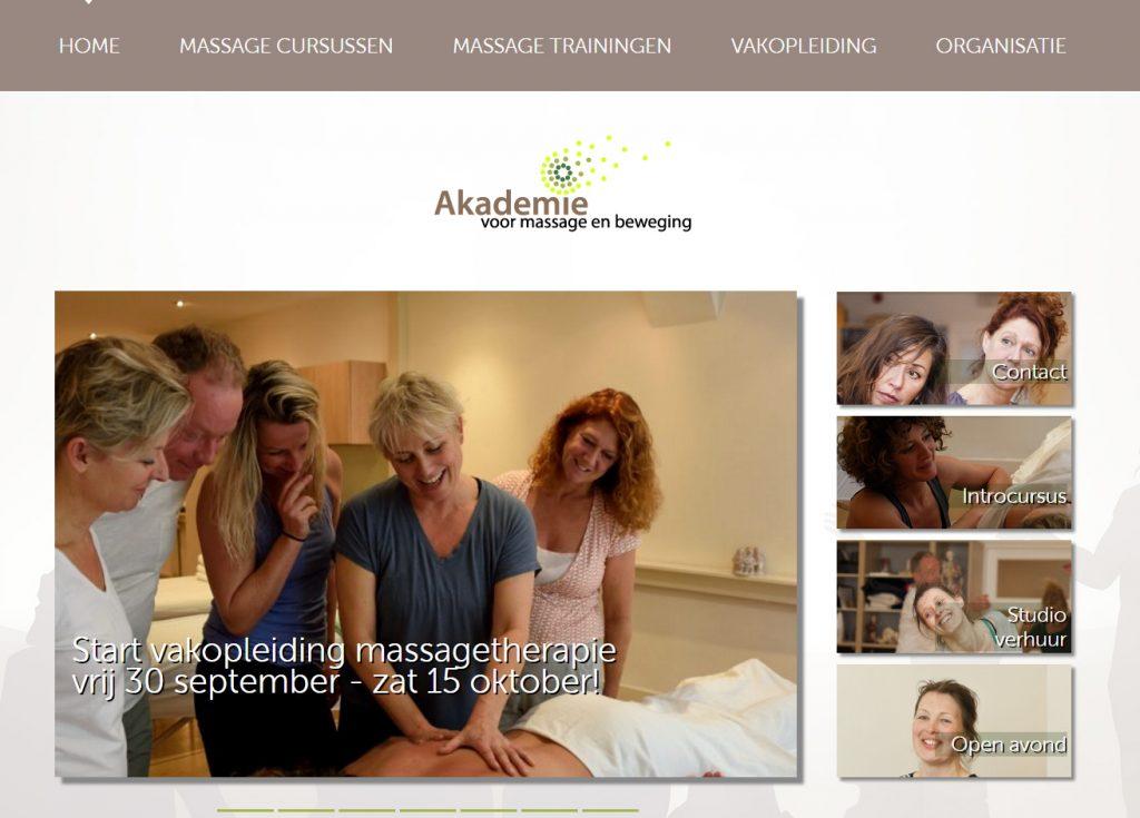 Akademie voor massage en beweging