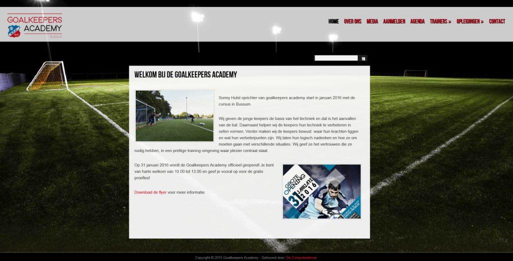 Goalkeepers Academy